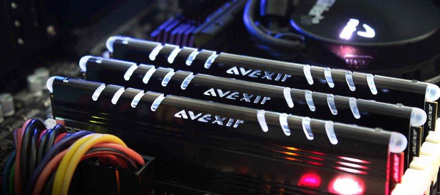 Pamäťové moduly Avexir