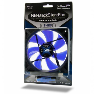 Noiseblocker BlackSilentFan XLP 120x120x25