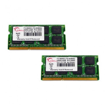 G.Skill SO-DIMM 8GB DDR3-1066 Kit