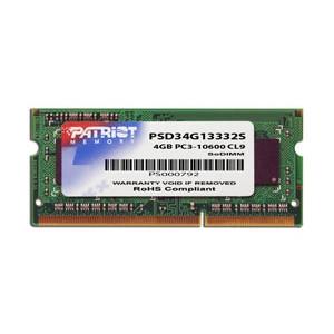 Patriot SO-DIMM 4GB DDR3-1333