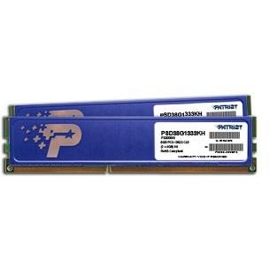 Patriot DIMM 8GB DDR3-1333 Kit (PSD38G1333KH)
