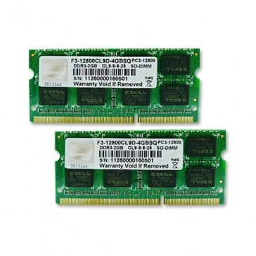 G.Skill SO-DIMM 4GB DDR3-1600 Kit