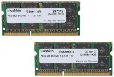 Mushkin SO-DIMM 16GB DDR3-1066 Kit Essentials-Serie