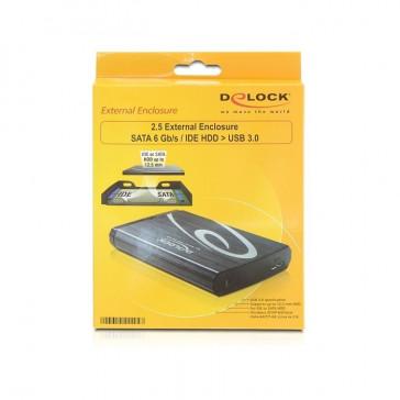 DeLOCK 2.5 Externes SATA 6Gb/s/IDE HDD na USB 3.0