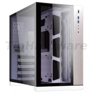 Lian Li PC-O11DW Dynamic, Tempered Glass, white [PC-O11DW]
