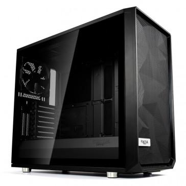 Fractal Design Meshify S2 Black - Dark TG black, Dark Tinted Tempered Glass [FD-CA-MESH-S2-BKO-TG]
