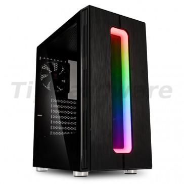 Kolink Nimbus RGB Midi Tower Case - Black [NIMBUS RGB]
