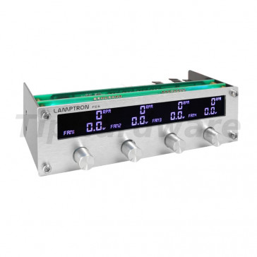 "Lamptron FC6 Fan Controller 5,25"" - silver"