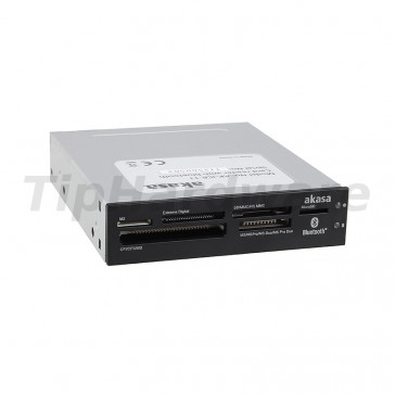 "Akasa AK-ICR-11 Internal Media Card Reader 3,5"" with Bluetooth"