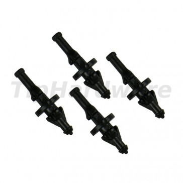 Lamptron Rubber Bolts - black