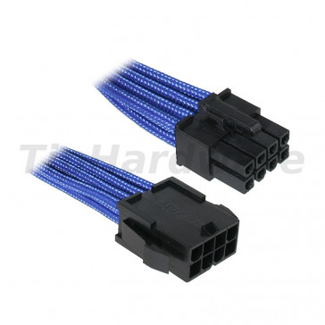 BitFenix 8-Pin EPS12V Extension Cable 45cm - sleeved blue/black