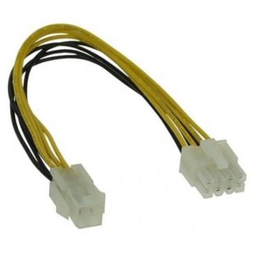 Inline Power Adapter 4Pol ATX 1.3 na 8Pol ATX 2.0