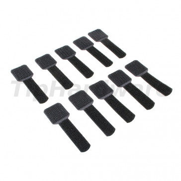 LABEL THE CABLE Wall 10ks Set - black