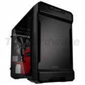 PHANTEKS Enthoo Evolv ITX Glass Mini-ITX Case - Black/Red [PH-ES215PTG_SRD]