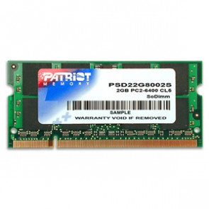 Patriot SO-DIMM 2GB DDR2-800