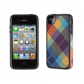 Speck iPhone4s FabShell MegaPlaid (Spectrum)