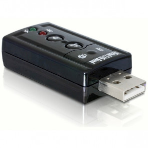DeLOCK USB Sound Adapter 7.1 (61645)