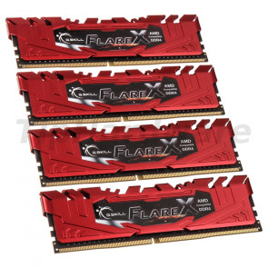 G.Skill DIMM 32GB DDR4-2400 Quad-Kit [F4-2400C15Q-32GFXR]