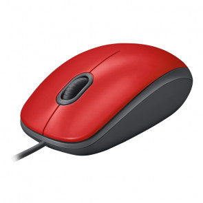 Logitech M110 Silent red [910-005489]