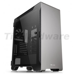 Thermaltake A500 Aluminum TG grey, Window-Kit [CA-1L3-00M9WN-00]