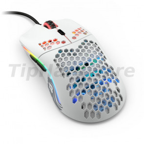 Glorious PC Gaming Race Model O USB RGB Odin Gaming Mouse - Matte White [GO-WHITE]