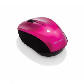 Verbatim Go Nano Wireless Mouse Hot Pink [49043]