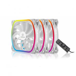 Enermax SquA RGB White 3 Pack 120x120 [UCSQARGB12P-W-BP3]
