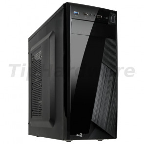 Aerocool CS-1101 Midi-Tower - black